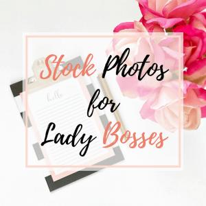 Feminine stock photos for boss ladies