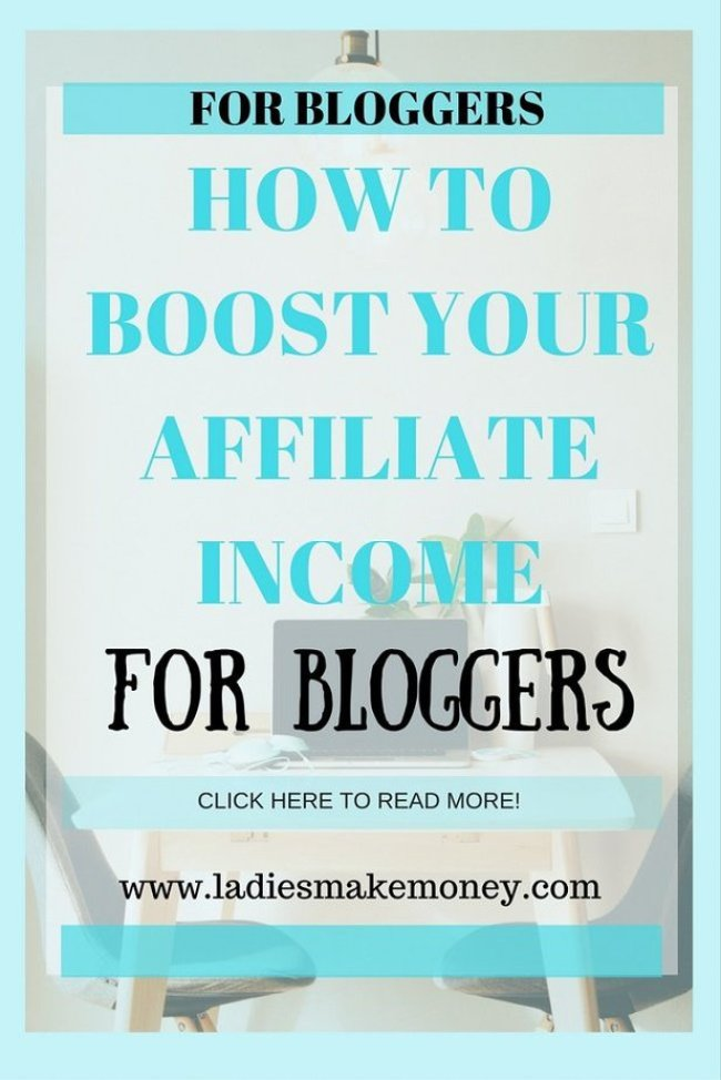 How to Boost your Affiliate Income and Make Money Online
