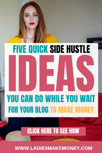 Good Side Jobs to Make Extra Money Every Entrepreneur Must Start today. Here are a few ways to make extra money while waiting for your blog to make money. We are sharing great ideas to make extra money fast online. Want to make money blogging, you can start making extra money today using these amazing tips for entrepreneurs #makeextracash #makemoneyonline #ladiesmakemoney