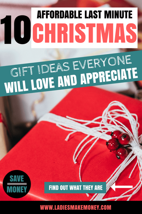 We have created the absolutely best list of affordable last minute Christmas gift ideas that everyone on your list will love. If you are looking for budget gift ideas for the holidays, be sure to check out this list. Plan to have a Christmas on a budget for frugal living people. How to properly budget for Christmas and save money. Save money on Christmas gifts with this amazing list. The best Christmas Gift guide for the holidays #savemoney #christmasonabudget #budgetholidays #holidayideas #holidaygifts #christmasdecor #christmasideas