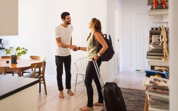 rent your home out on airbnb as one of the ways to make quick money