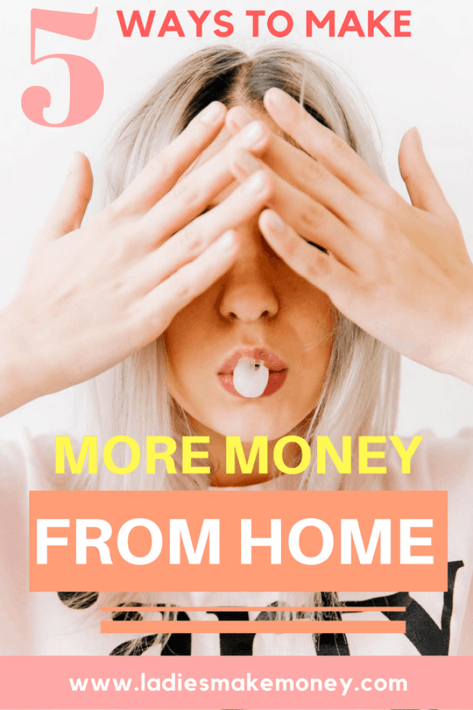 5 Ways to Earn Extra Money | Side Hustle | Make More Money | Earn More Money | Ways to make more money from home