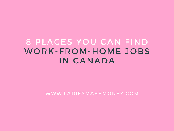 Are you looking for work at home jobs for Canadians? We have a list of work-from-home jobs in Canada that are easy to get started with. Learn how to make extra money from home fast if you live in Canada. This is perfect for those that are in Canada and are looking to work from home or online. #Canadajobs #workfromhome #makemoneyonline