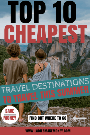 Here our tips on how to travel on a budget and save money. Saving money for a vacation is now easy with places that are becoming affordable to travel too. Here is a list with the cheapest travel destinations for everyone. We have included tips on how to travel on a budget to save money. Affordable countries that you can travel to. #travelonabudget #vacation #beach