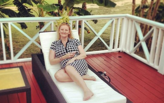 Location independent blogger Deborah Preston