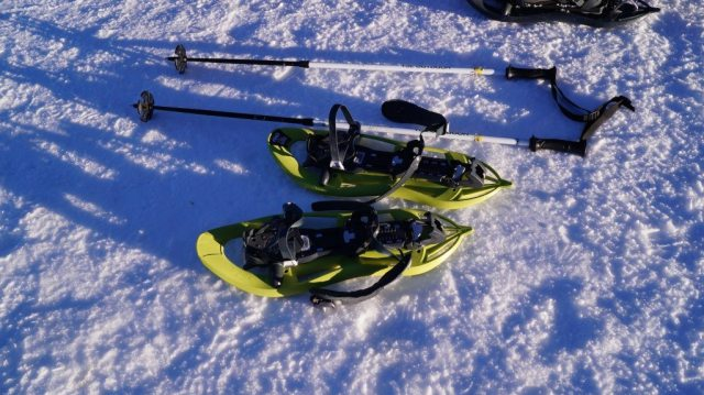 Snow shoes in Catalonia
