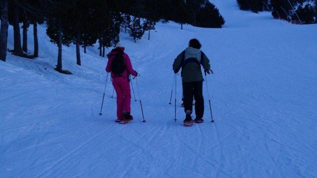 Snow she trek at Port Ainé