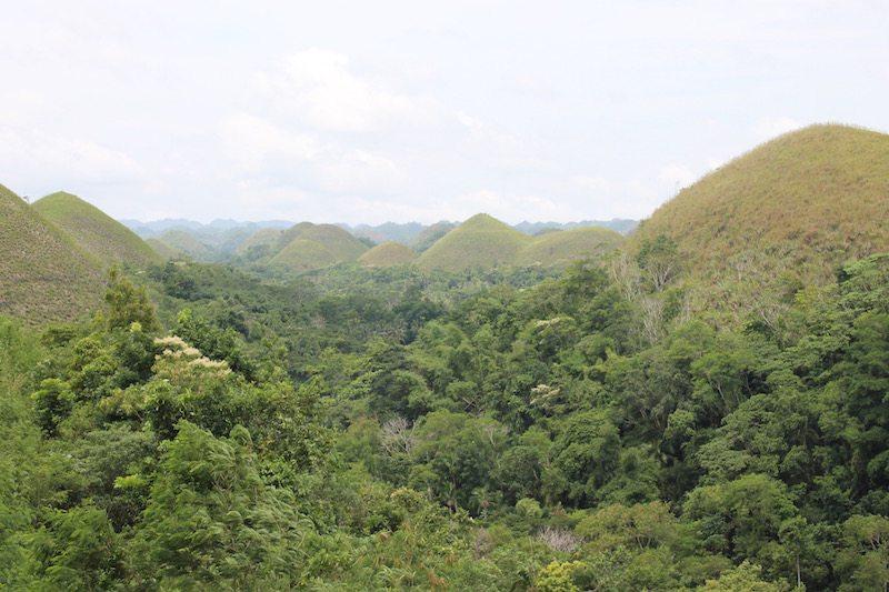 The Chocolate Hills, Bohol.