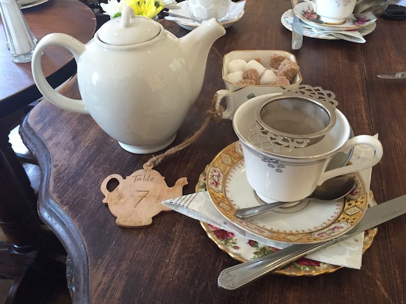 Pettigrew Tea Rooms Food