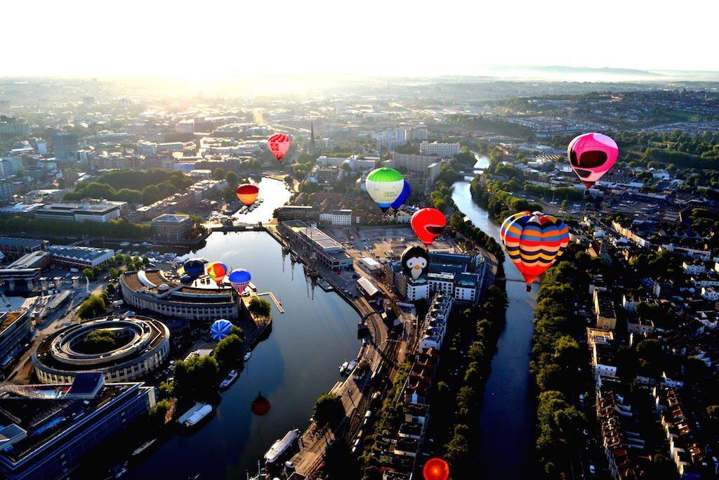 Bristol Balloon Fiesta Credit: Angharad Paull