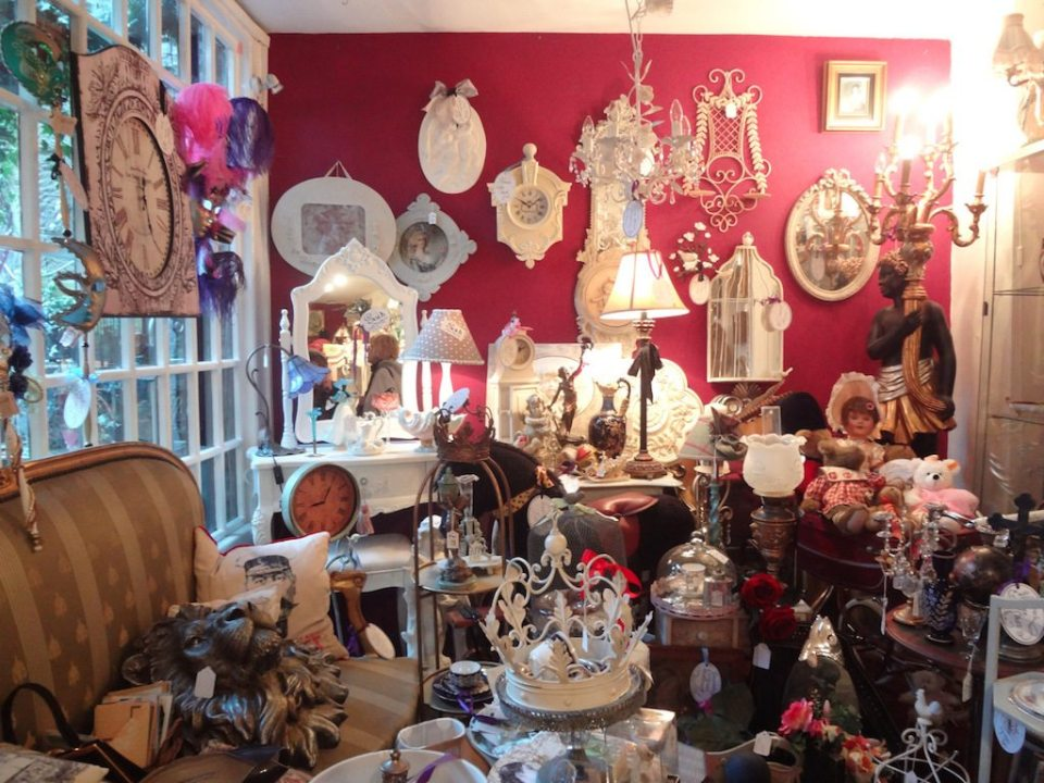 Eclectic shops in Bakewell UK
