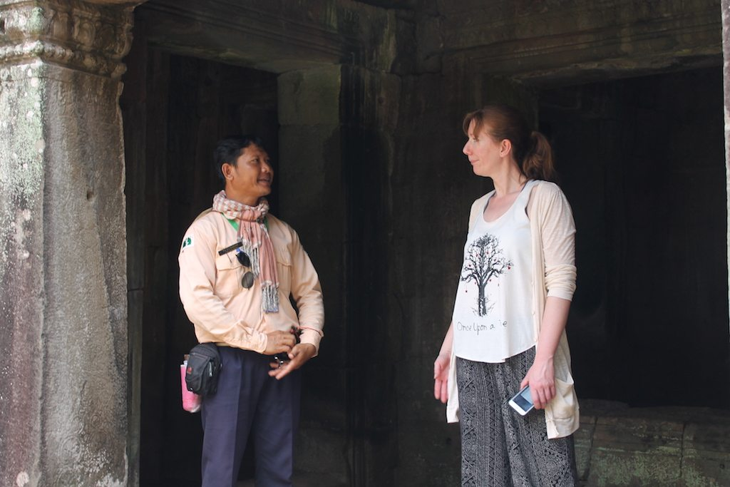 Guide at Angkor Wat | Ladies What Travel
