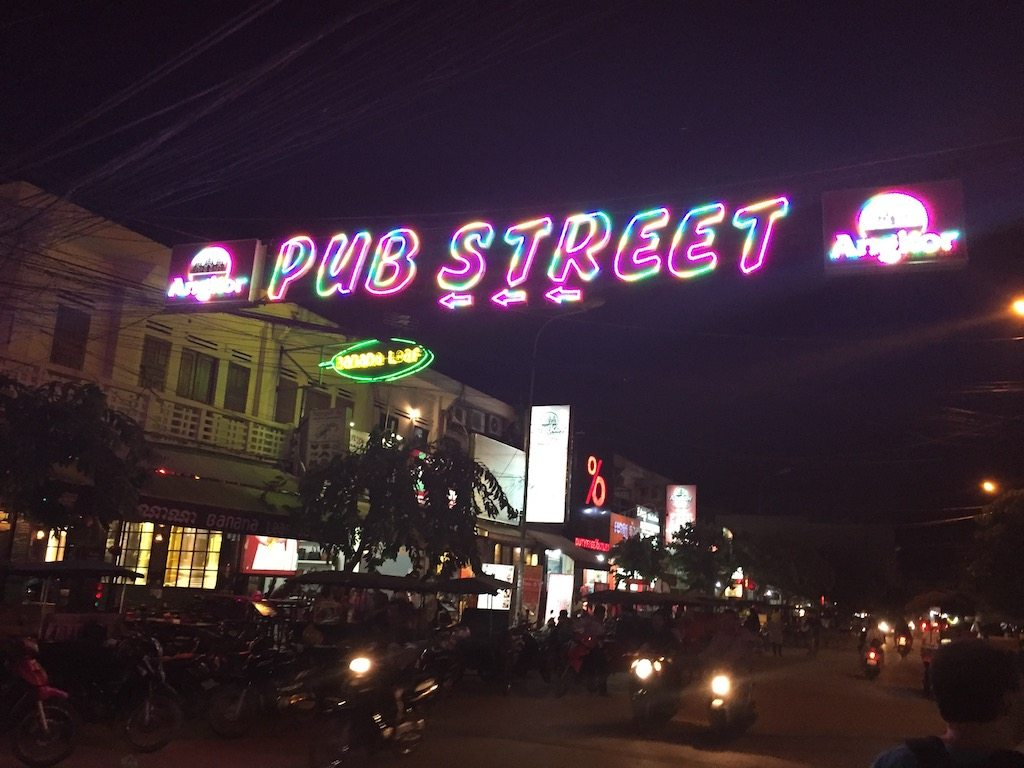 Pub Street Siem Reap Ladies What Travel