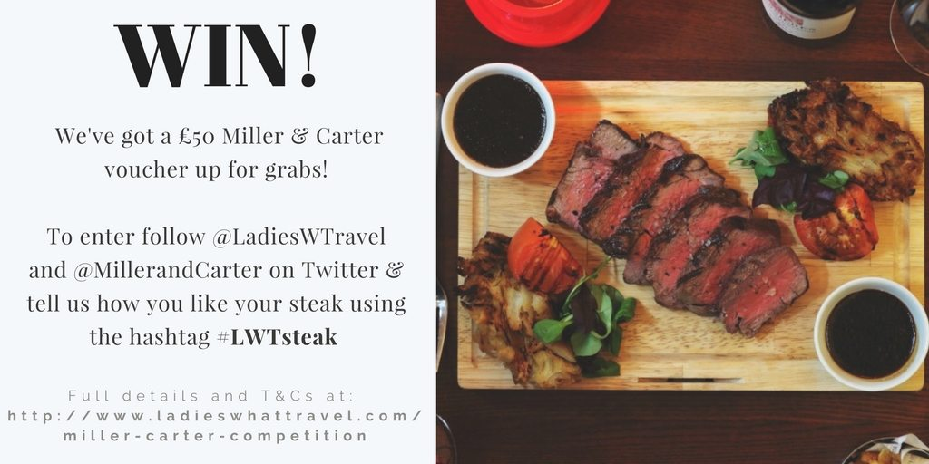Miller and Carter Steak | Ladies What Travel