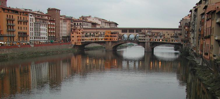 Ponte Vecchio Florence. By Aldo Ardetti - Own work, CC BY-SA 3.0, https://commons.wikimedia.org/w/index.php?curid=2962939