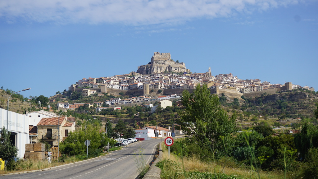 Morella from road
