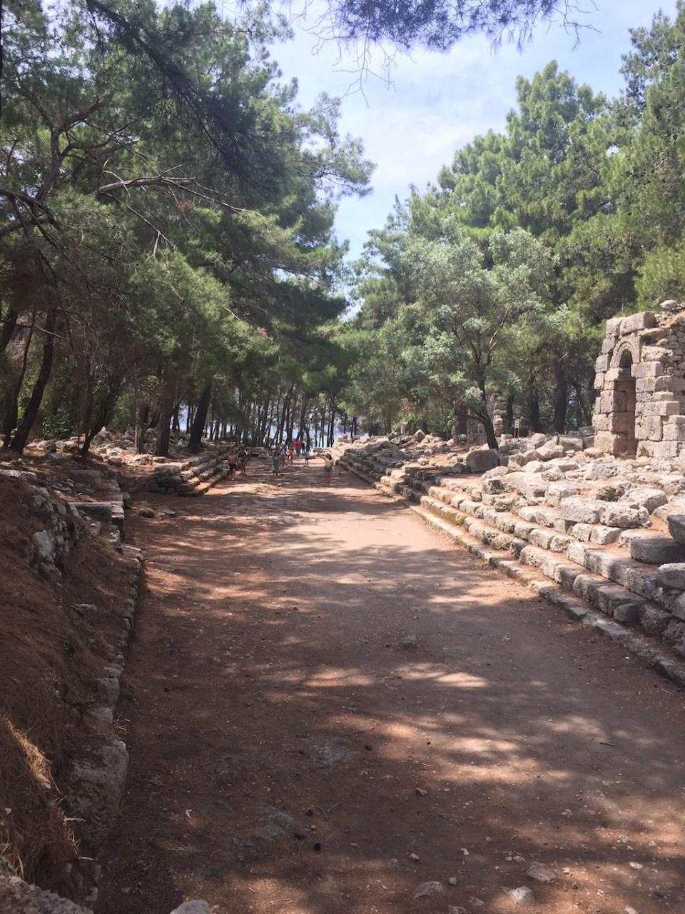 Ruins of Phaselis, Turkey   Ladies What Travel