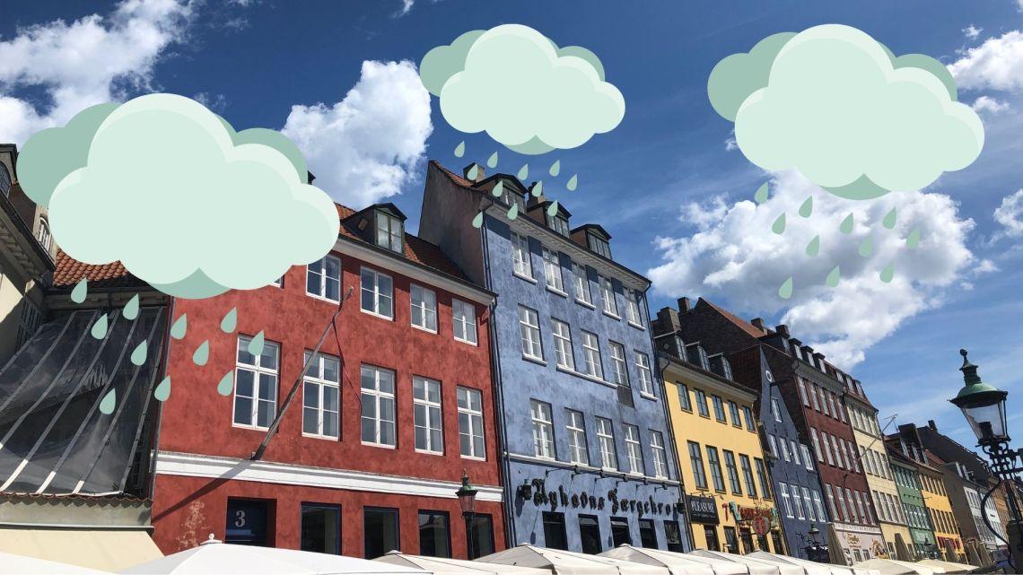 What to do in Copenhagen when it rains - inspiration for rainy days in Copenhagen from Ladies What travel. #Nyhavn #copenhagen #denmark