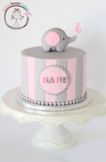 http://www.cakecentral.com/gallery/i/3013525/elephant-baby-shower-cake