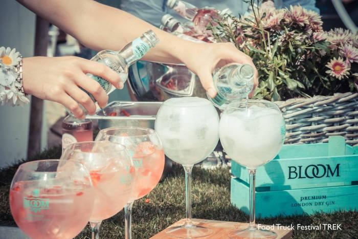 loom Gin & Rose Lemonade