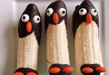 http://www.icreativeideas.com/creative-ideas-diy-frozen-banana-penguin-snack/