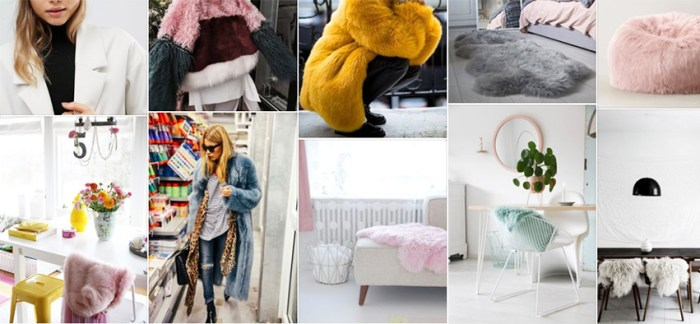 Colorful Faux Fur - header