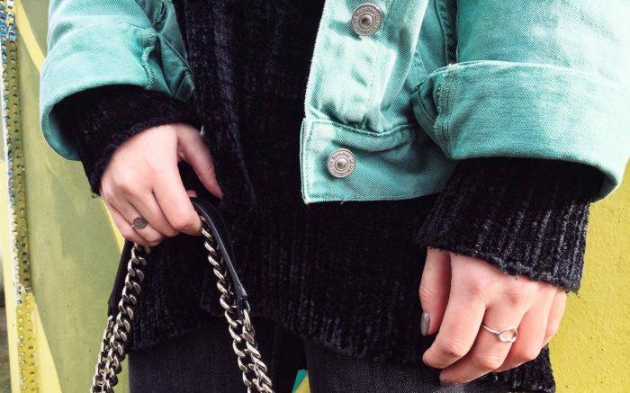 OOTD Dinsdag - Colorful Denim Jacket