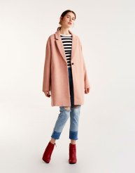 Wollen jas - Pull and Bear - € 29,99