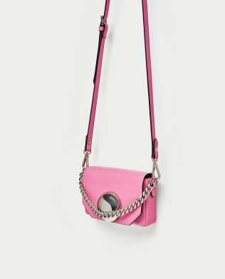 roze minischoudertas-zara