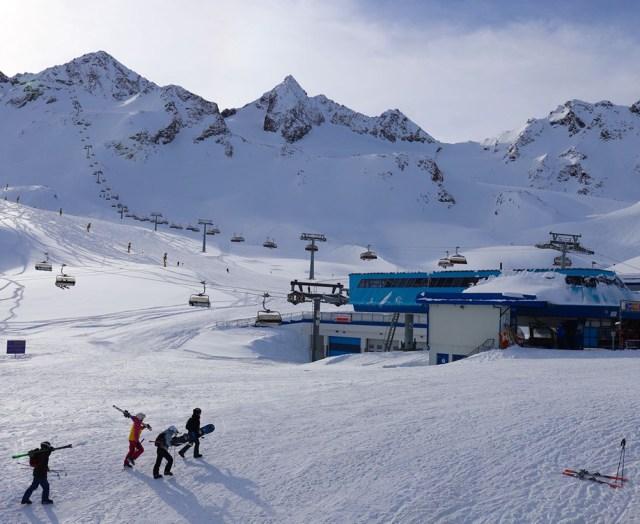 Stubai Tirol Gletscher - foto door reishonger.nl