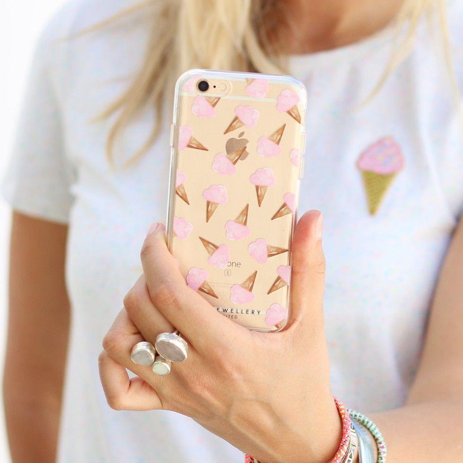 iPhone telefoonhoesje - ijsjes