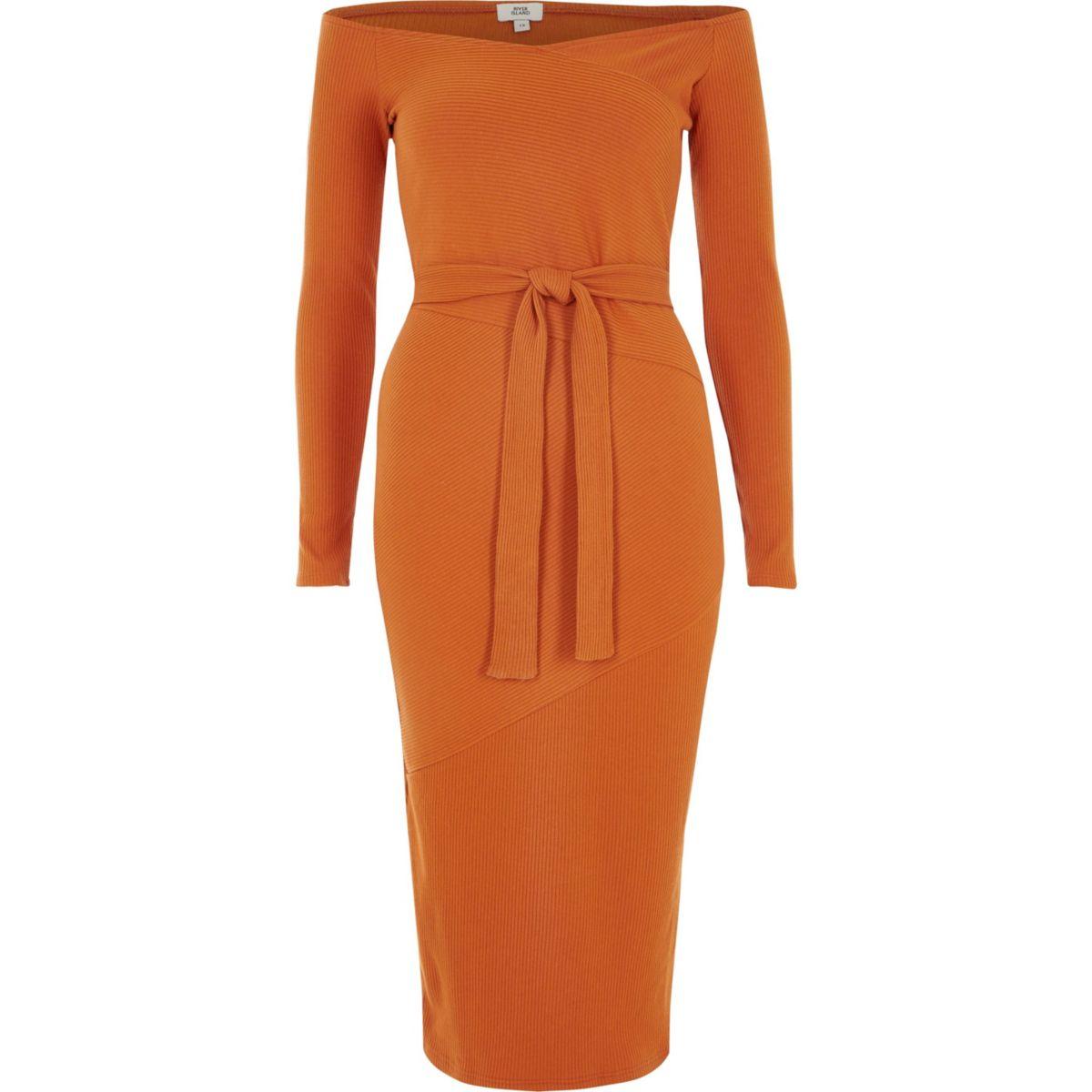 riverisland_ribbel jurk