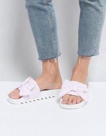 slider roze-wit gestreept