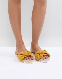 slider yellow bow