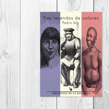 Tres leyendas de colores