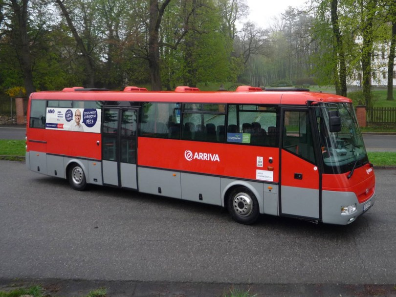 autobus Ladislav Václavec