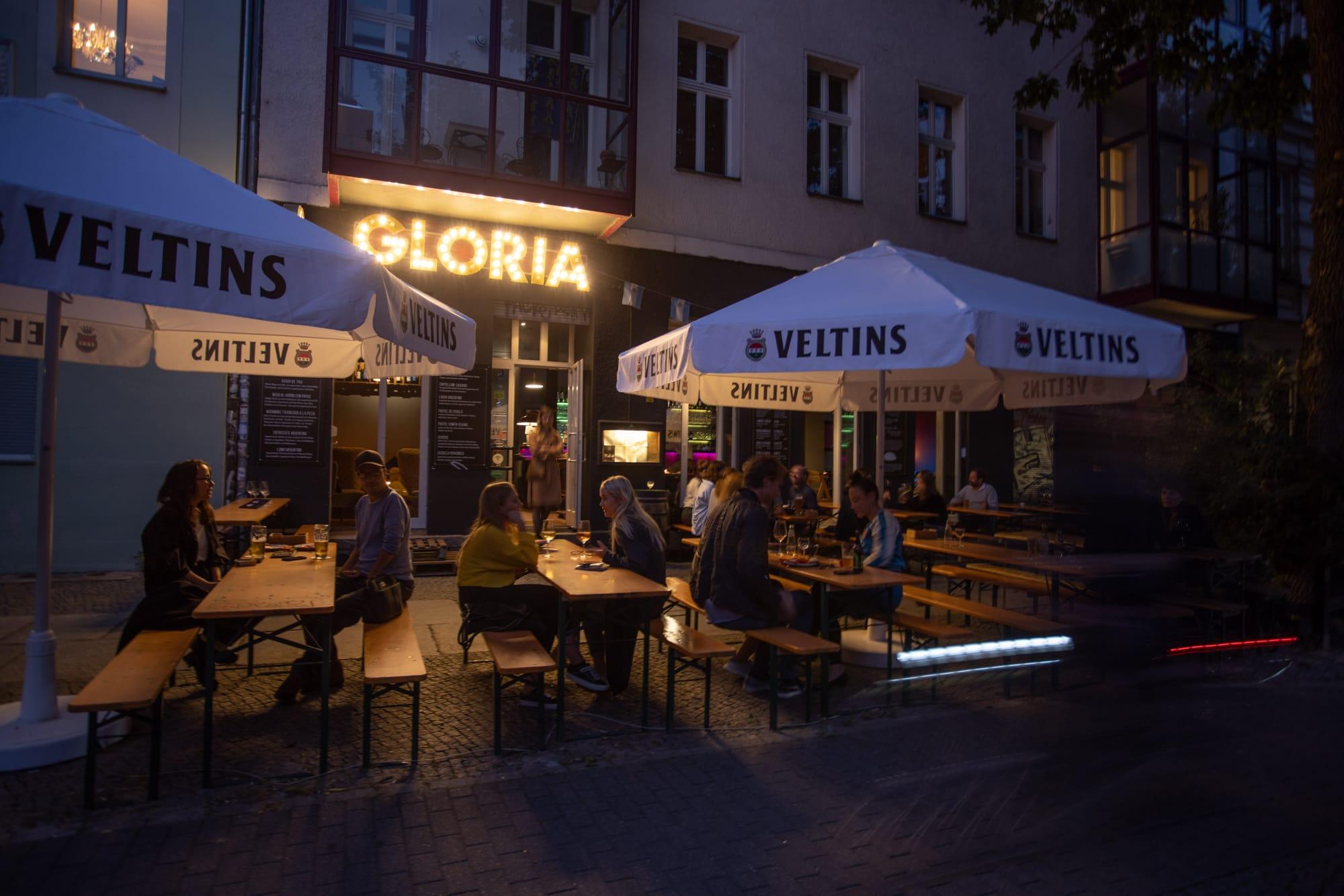 Gloria empanadas - Kreuzberg Lado B erlin.