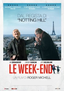 Regia: Roger Michell (FR/GB 2013) con: Lindsay Duncan, Jim Broadbent Orari: 18,00 – 20,15  comm. 93m.