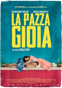 ITALIA, 2016 Regia: Paolo Virzì Interpreti: Valeria Bruni Tedeschi, Micaela Ramazzotti Orario: 16,15 – 18,20 – 20,30 Commedia. Durata 118 min.