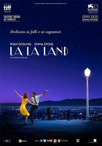 USA, 2016 Regia: Damien Chazelle Interpreti: Ryan Gosling, Emma Stone Commedia/Musicale. Durata 128 min. Orario: 18,15 – 20,25
