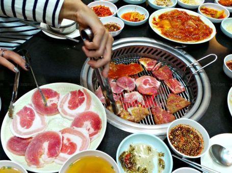 อีวาวอน ปิ้งย่างสไตล์เกาหลี  Ehwawon Restaurant