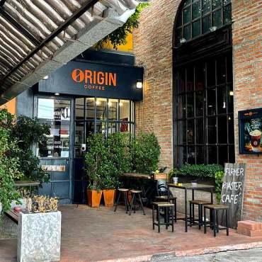 ร้านกาแฟ Origin Coffee นาคนิวาส