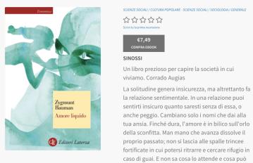 amore liquido ebook