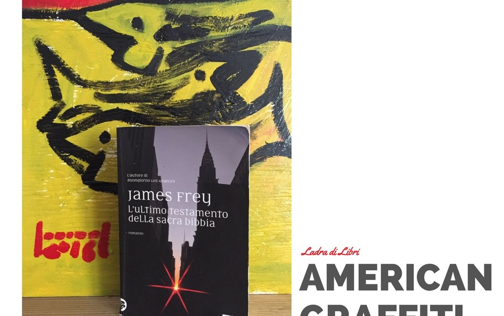 American Graffiti: James Frey (by paolo boriani)