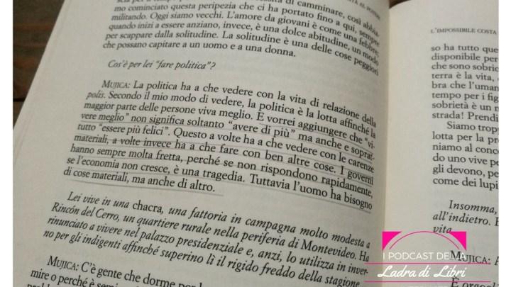 Cristina Guarnieri ci parla de La Felicità al Potere di Pepe Mujica