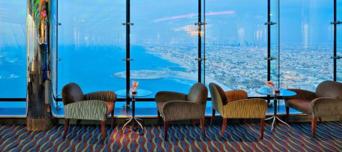 Burj Al Arab Skyview Bar - The world's first and only 7* hotel