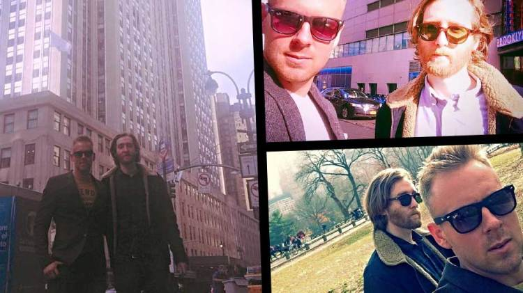 More New York Tourist spots with Lee Walpole and Luke Butler
