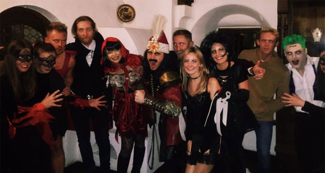 Fortunately, the new Vlad the Impaler was friendly