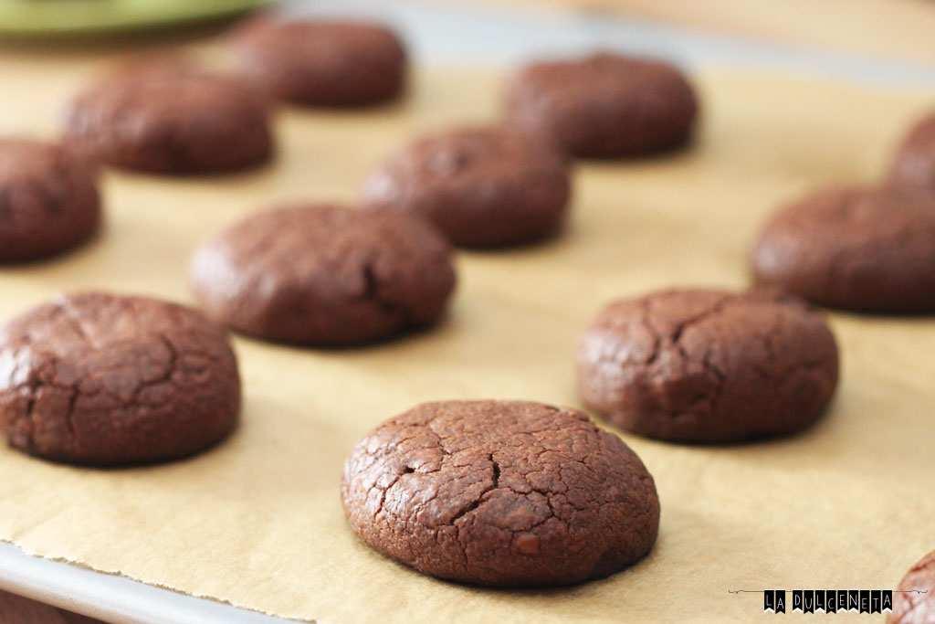 galletas triple chocolate