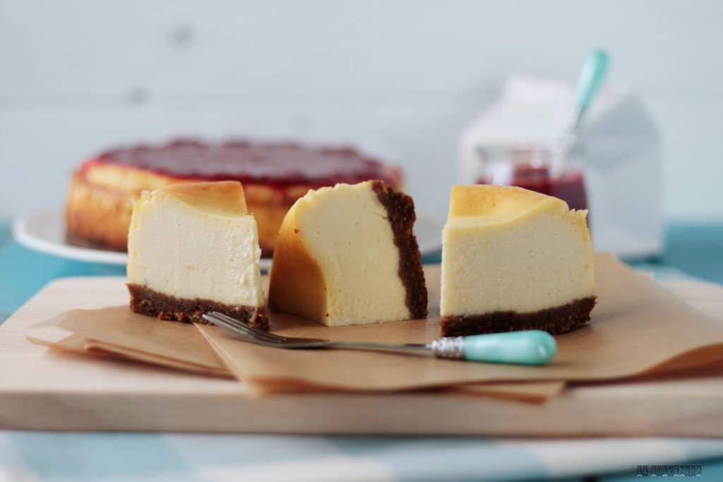 tarta de queso estilo NY